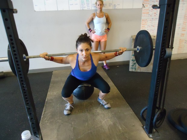 CrossFit Santa Fe back squat