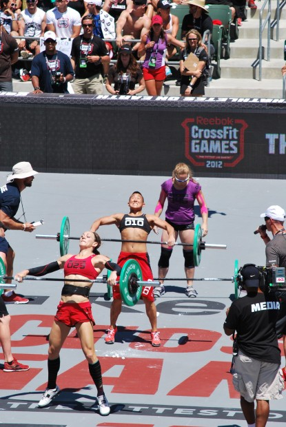 The fierce competitors of the 2012 CROSSFIT GAMES!!!