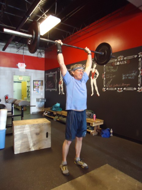 CrossFit Santa Fe push press