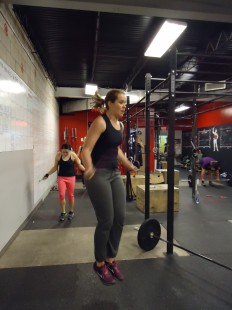 Kristine is a whiz at both fixing smiles and double unders!