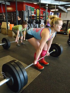 CrossFit santa fe deadlift