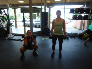 crossfit santa fe dumbbells