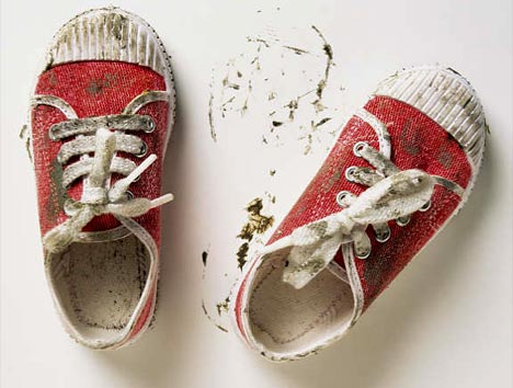 Say NO!!! TO dirty shoes!!